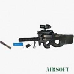 FUSIL P90 ELECTRICO CON ACCESORIOS