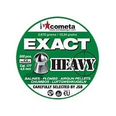 BALINES COMETA EXACT HEAVY 4,5mm
