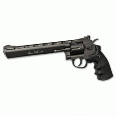 "REVOLVER DAN WESSON NEGRO 8"" CO2 6mm"