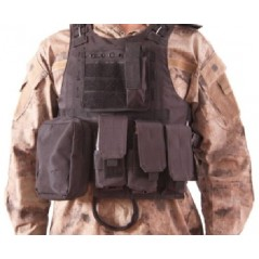 CHALECO TACTICO PLATE CARRIER DELTA V07