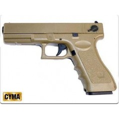 Pistola Glock 18 tan electrica 6mm