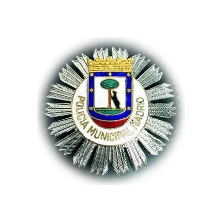 PLACA POLICIA MUNICIPAL DE MADRID