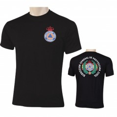 CAMISETA PROTEC. CIVIL DGPC LAUREL