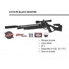 CARABINA GAMO COYOTE BLACK WHISPER PCP 4,5 Y 5,5mm