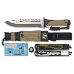 CUCHILLO K25 THUNDER I TAN