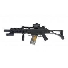 FUSIL AIRSOFT G608 CON VISOR Y LINTERNA 6mm