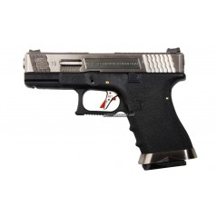 PISTOLA GLOCK 19 T7 CORREDERA METALICA AIRSOFT GAS 6mm