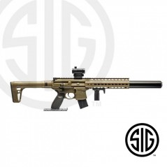 SUBFUSIL SIG SAUER MCX ASP SDE + VISOR RED DOT 4.5mm CO2