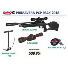PACK OFERTA GAMO COYOTE BLACK WHISPER PCP 5.5mm