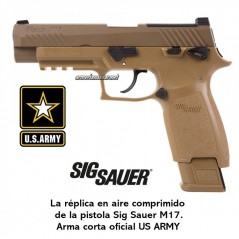 PISTOLA SIG SAUER M17 COYOTE 4.5mm CO2
